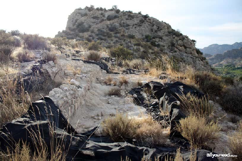 Valle de Ricote. Yacimiento ibérico del Tío Pío en Archena