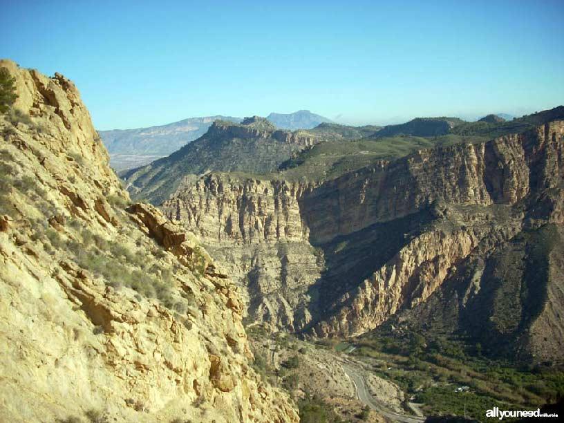 Valle de Ricote. Senderismo castillo de Ricote