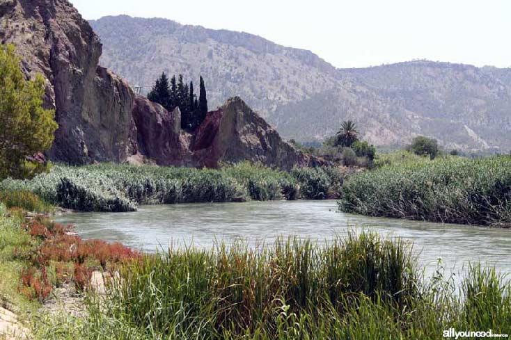 Valle de Ricote. Parque de las Cuevas en Blanca