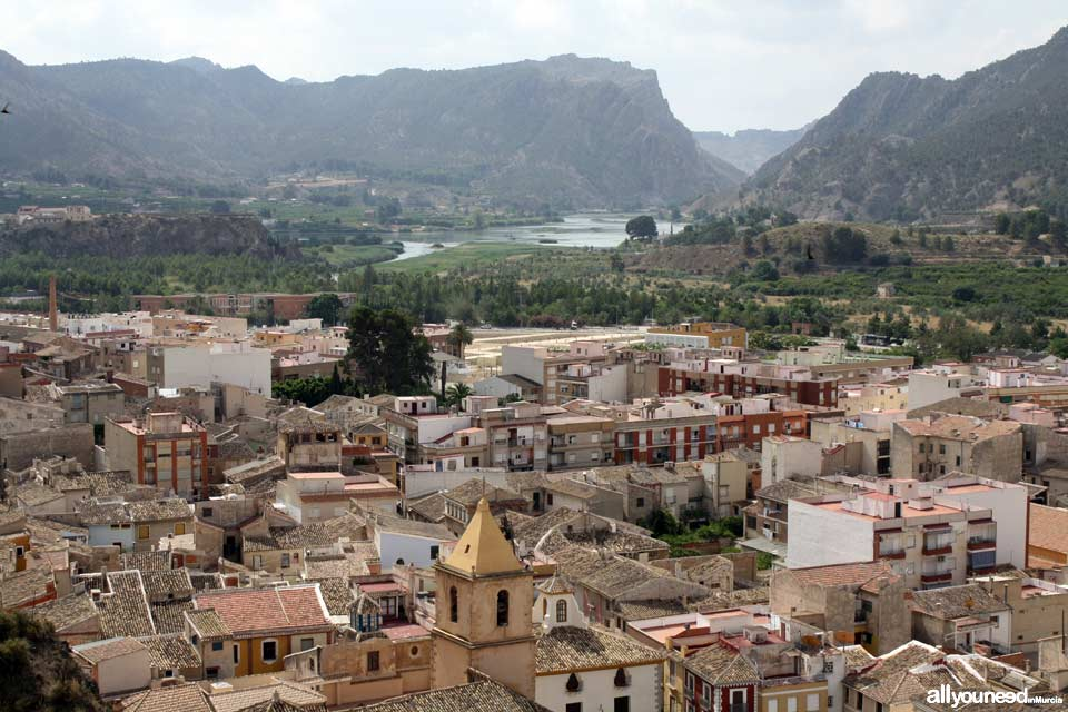 Unveiling landscapes in the Valley of Ricote. Blanca. Vista desde el Castillo