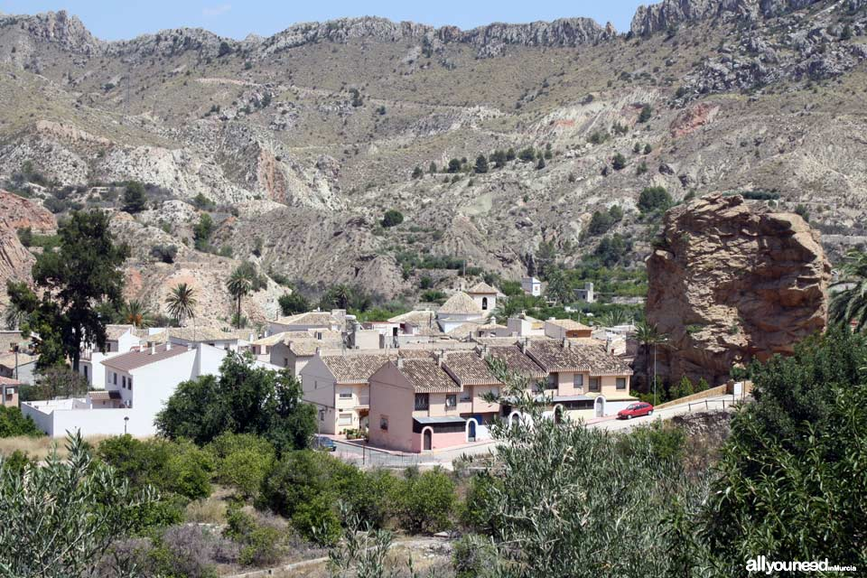 Unveiling landscapes in the Valley of Ricote. Ojós