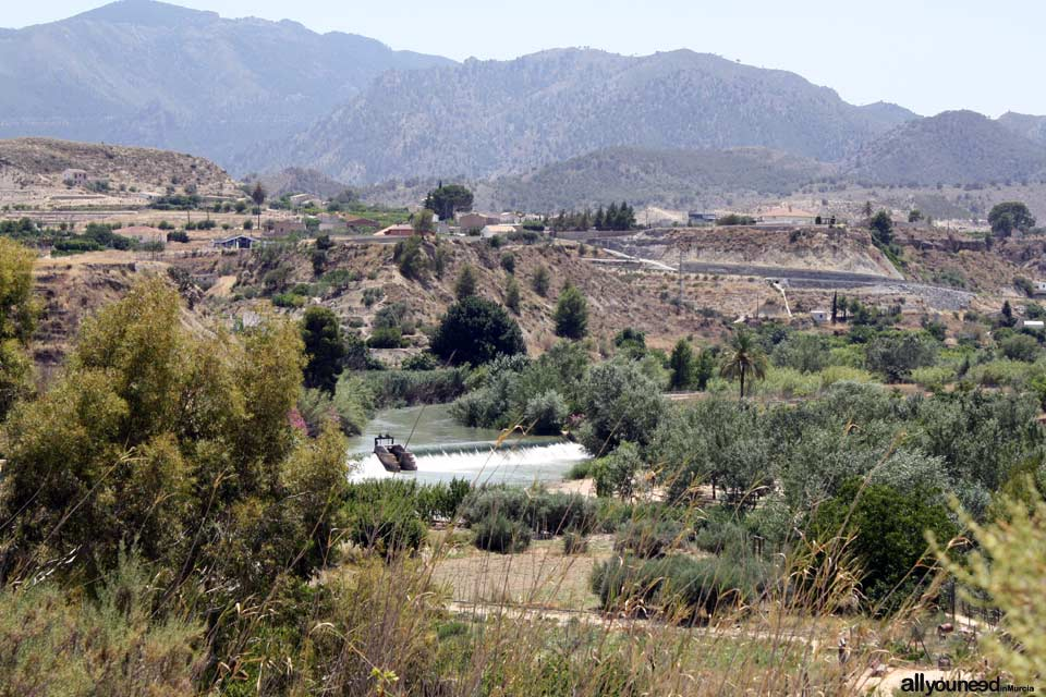 Unveiling landscapes in the Valley of Ricote. Abarán río Segura