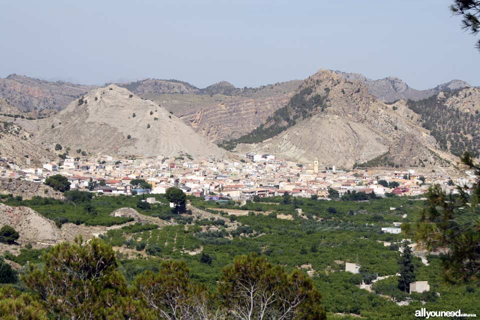 Unveiling landscapes in the Valley of Ricote. Ricote