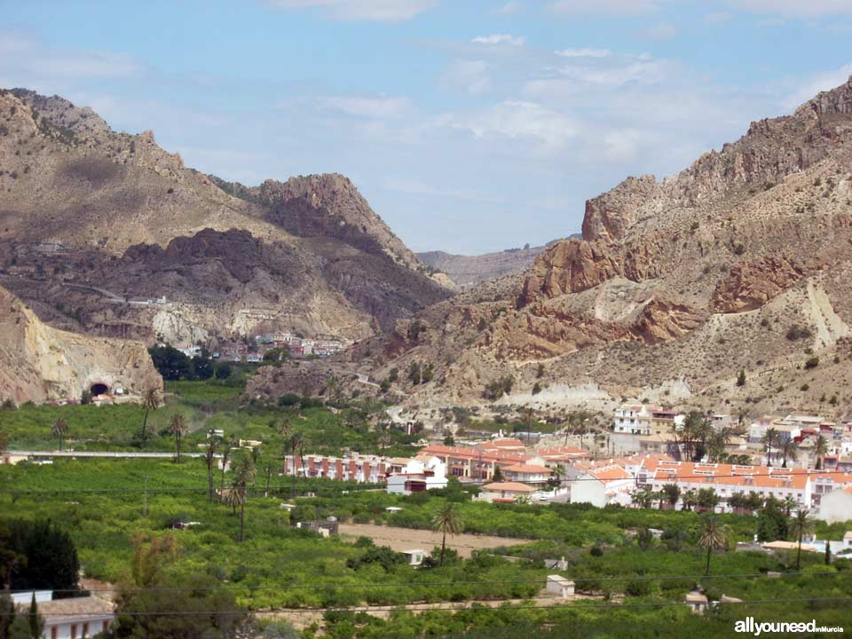Unveiling landscapes in the Valley of Ricote. Villanueva del Río Segura