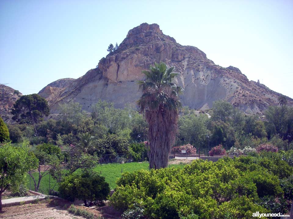 Unveiling landscapes in the Valley of Ricote. Archena. Cabezo del Tío Pío