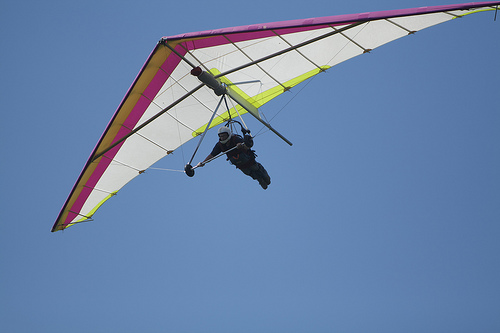 Active Tourism and Adventure in Murcia. Paragliding