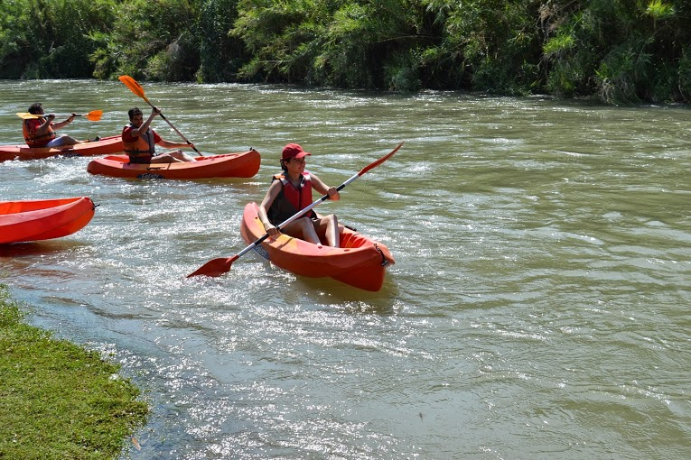 Active Tourism and Adventure in Murcia. Kayak along Segura River