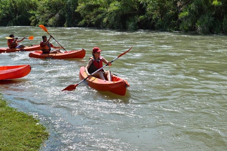 Turismo Activo y de Aventura en Murcia. Kayak por el Río Segura