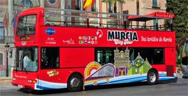 Bus Turístico en Murcia