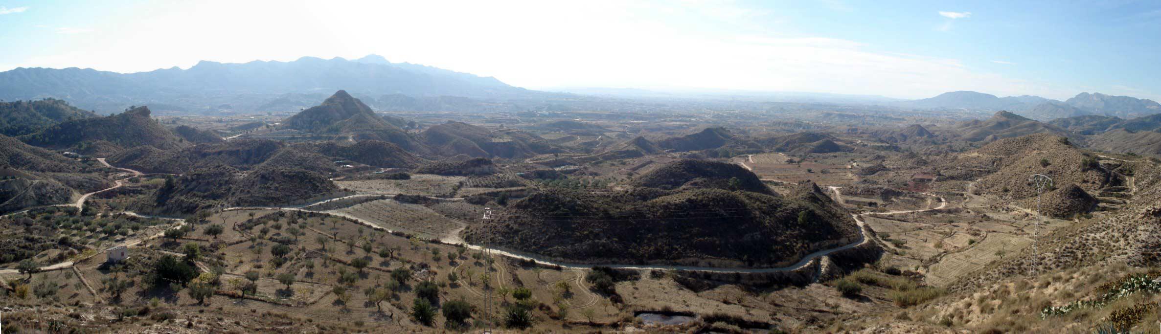 Panoramic Views of Abanilla. Macisvenda