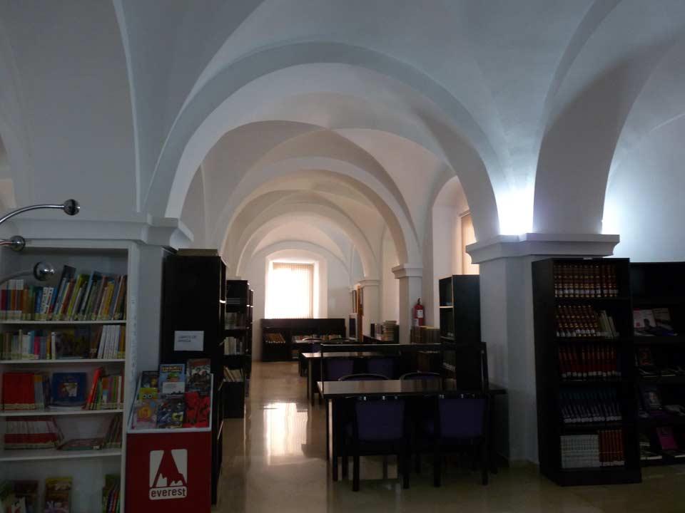 Commandancy Building. Library