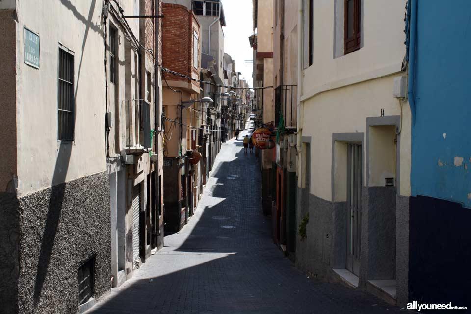 Calle Luis Carrasco de Abarán