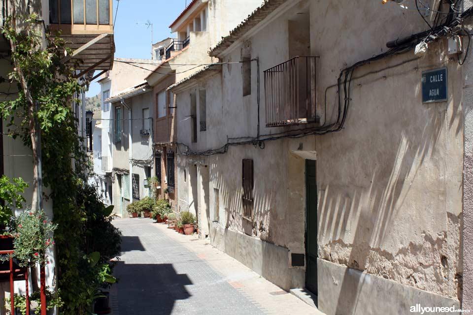 Calle Agua en Abarán