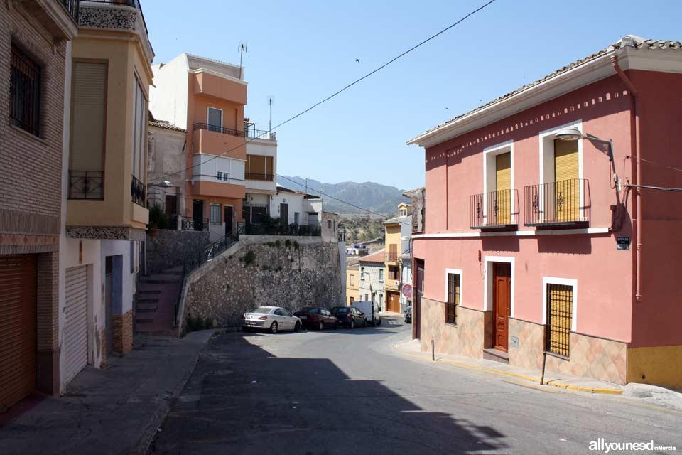 Calle Fernando Gómez en Abarán
