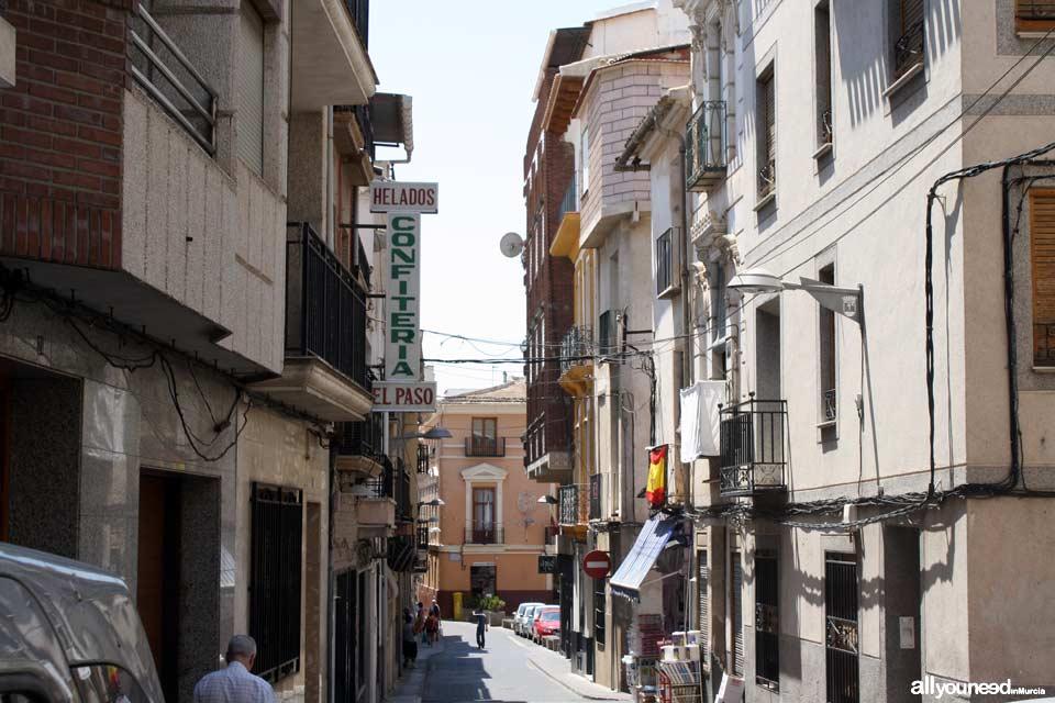 Calle Médico Gómez en Abarán