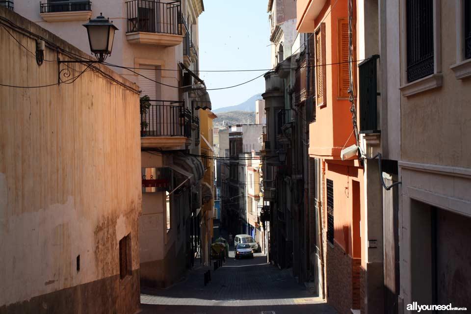 Calle Ramón y Cajal en Abarán