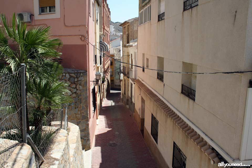 Streets in Abarán