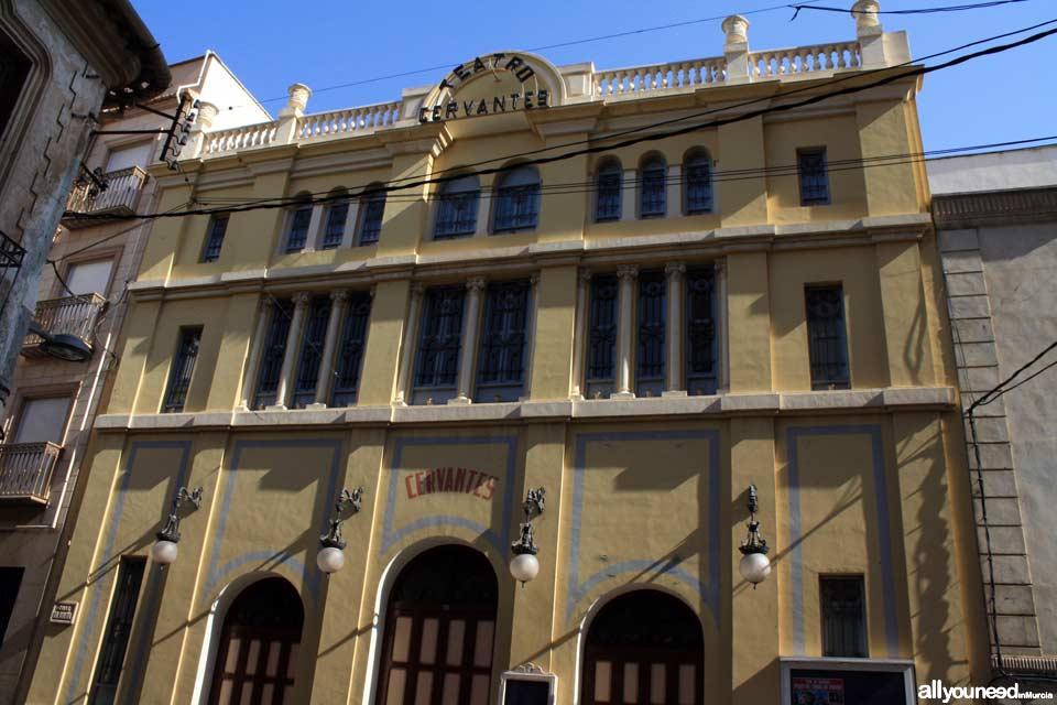 Teatro Cervantes. Abarán