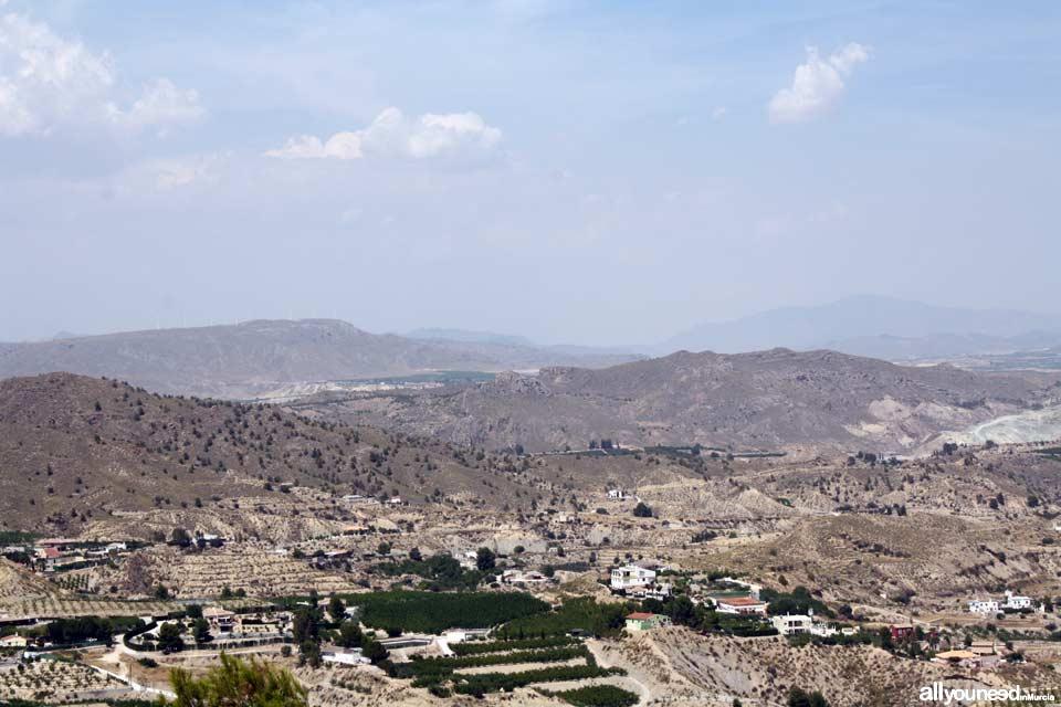 Sierra de Ascoy al fondo