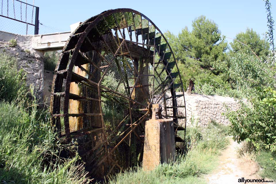 Candelón Waterwheel in Abarán