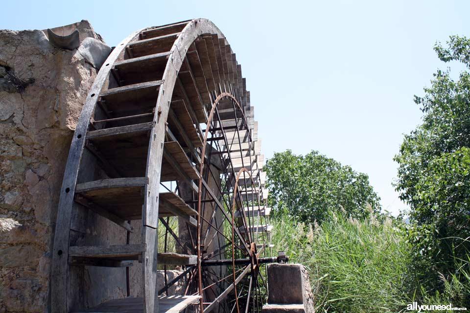 Félix Cayetano Waterwheel in Abarán. Spain