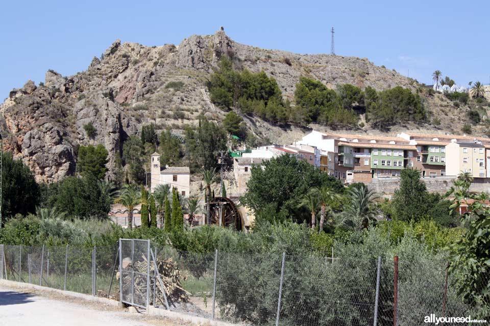 Noria Grande de Abarán y Parque. Norias de Murcia