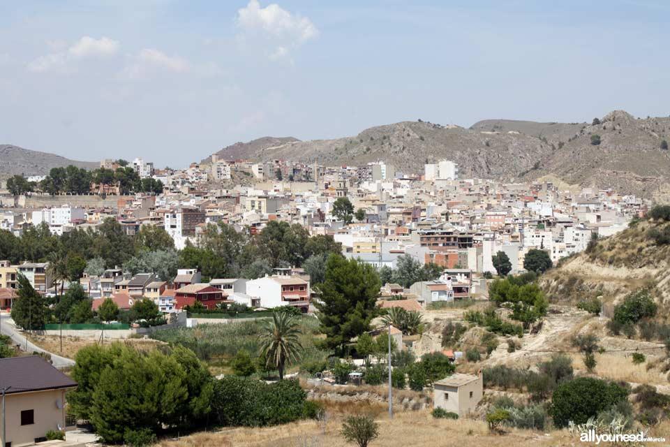 Vista de Abarán