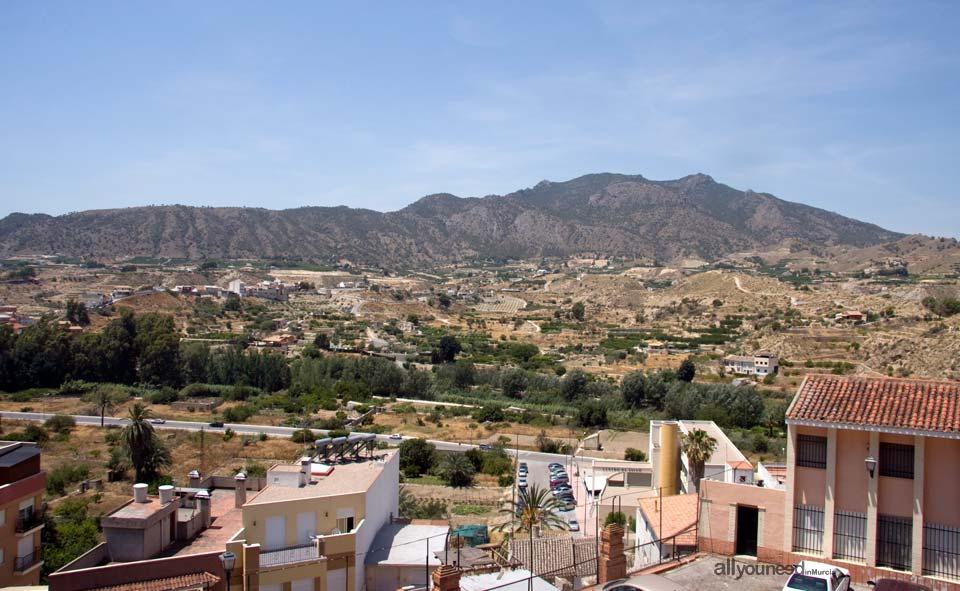 Vista desde la Ermita de Abarán