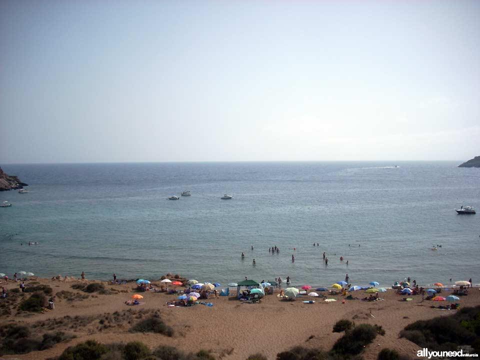 Playa Amarilla de Águilas
