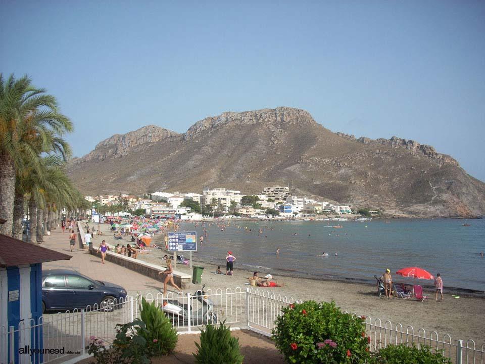 Playa de Calabardina y Cabo Cope