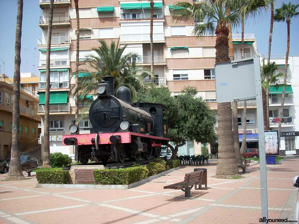 Railway Monument in Águilas