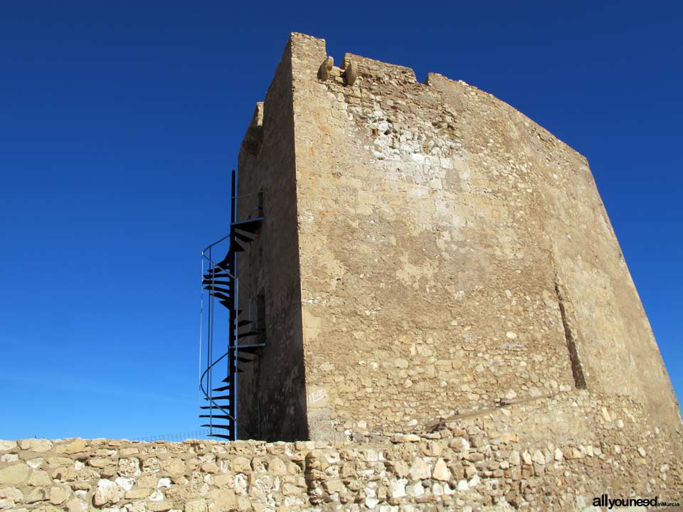 Cope Watchtower in Aguilas