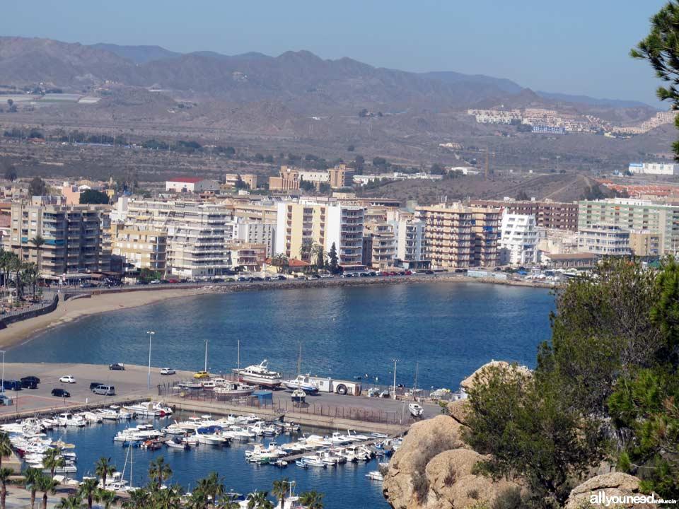 Playa de Levante. Aguilas