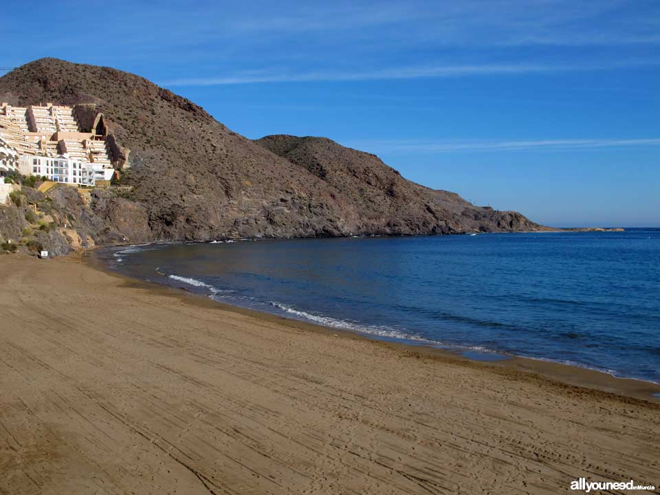 Hornillo Beach in Aguilas