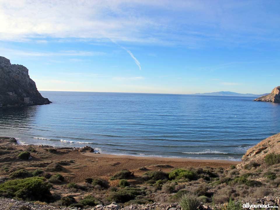 Playa Amarilla / Playa del Cigarro. Aguilas