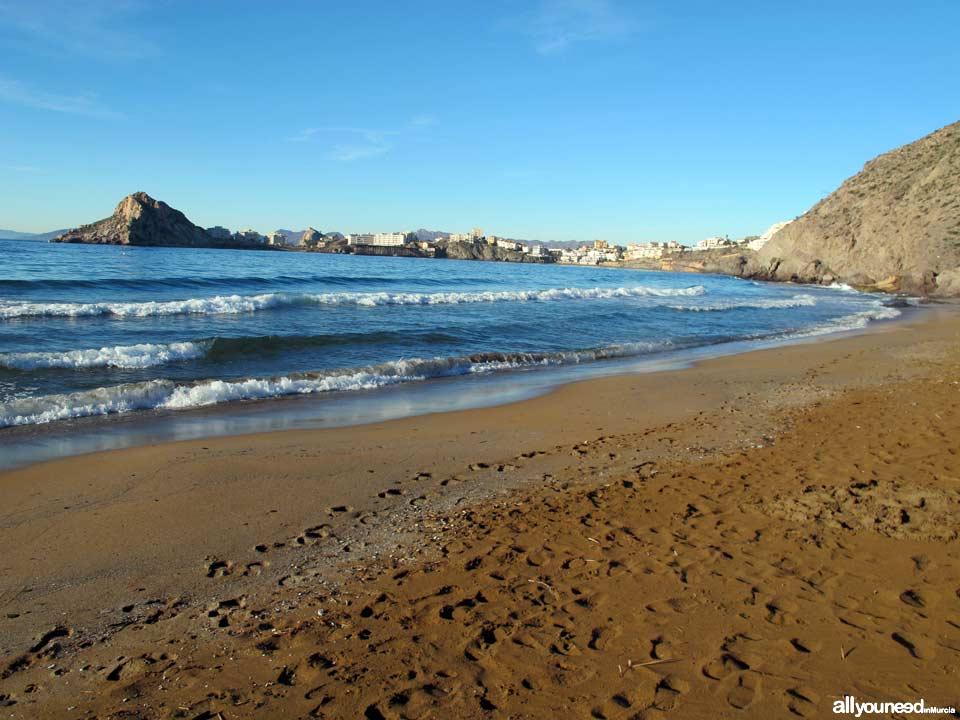 Amarilla Beach / Cigarro beach. Águilas