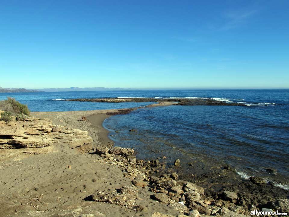 Galera Beach. Aguilas