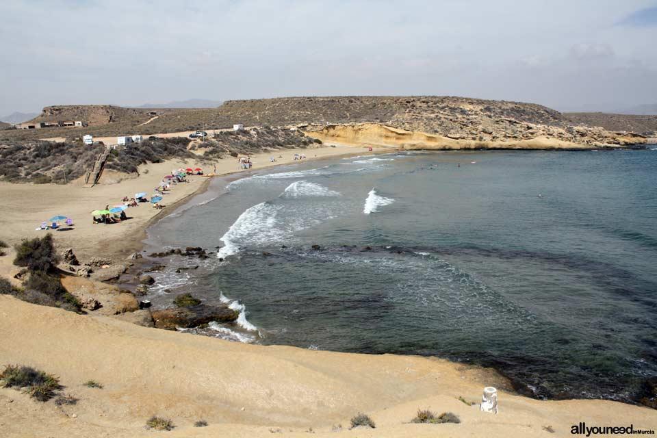 Playa La Carolina en Águilas
