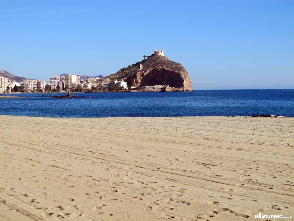 Playa de Poniente. Aguilas