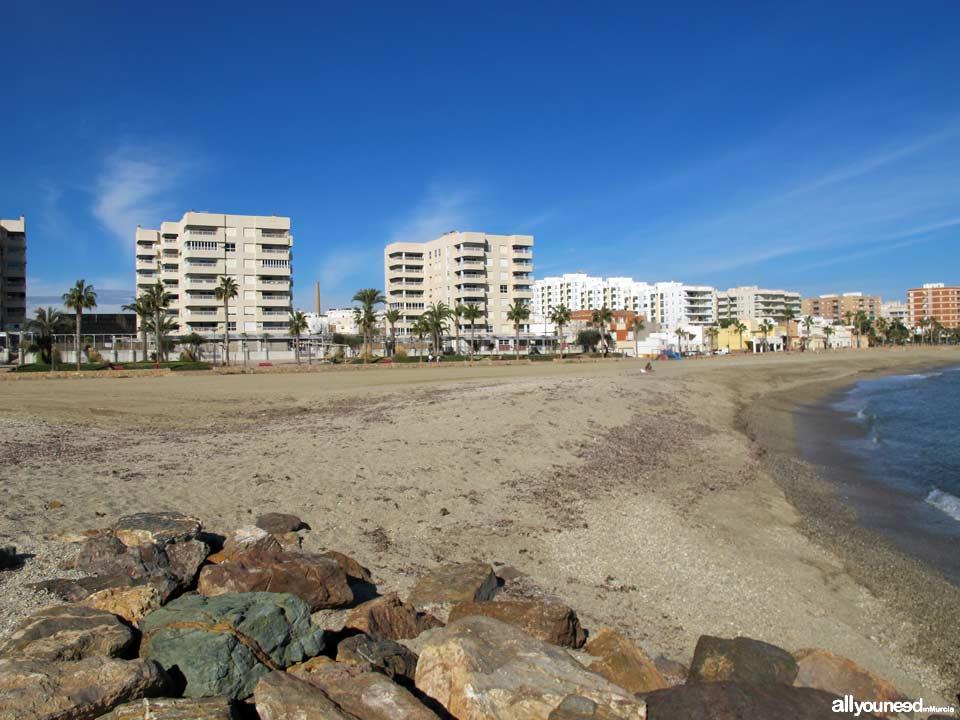 Poniente Beach. Aguilas