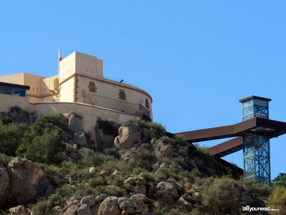 Castillo de san juan de las guilas murcia castillos de for Oficina de turismo aguilas
