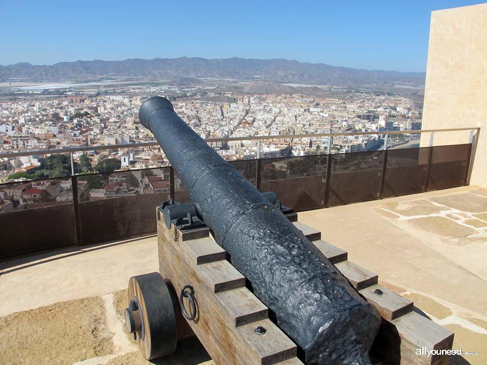 Castle San Juan de las Águilas. Murcia Castles of Spain