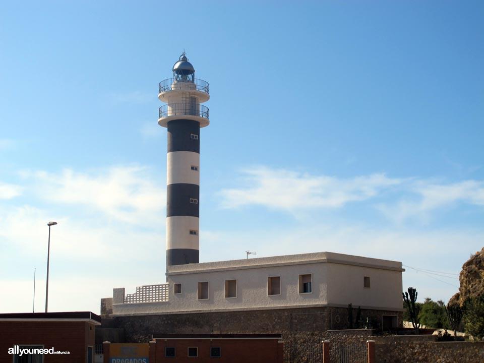 Faro de Punta Negra en Águilas. Murcia