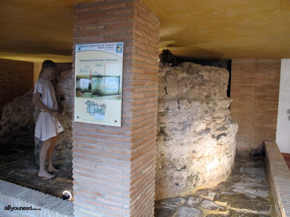 Western Roman Baths in Águilas
