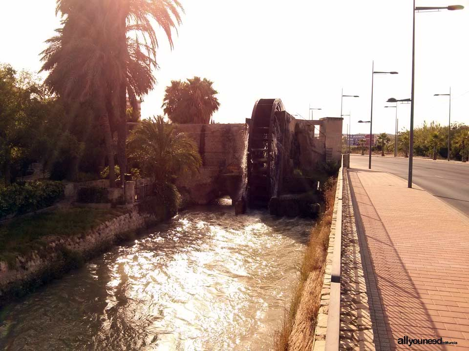 Alcantarilla Waterwheel in Murcia. Spain