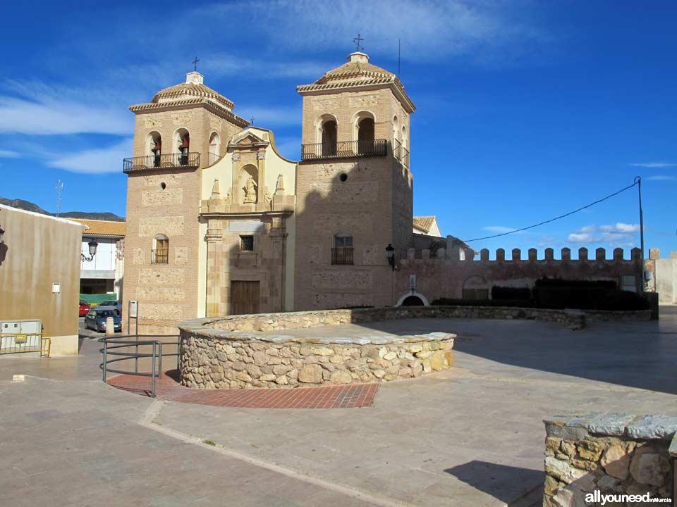 Castillo de Aledo.  Iglesia Santa Real