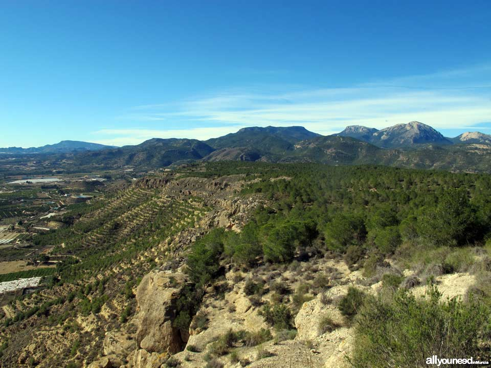 Muela Mountains. Alhama de Murcia