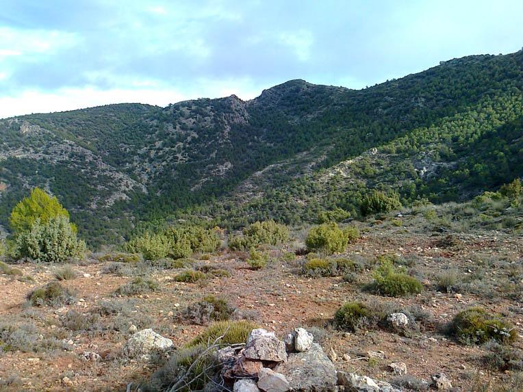 El Berro-Gebas Ravine Route