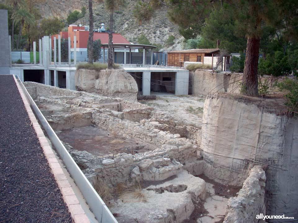 Balneario de Archena. Antiguos baños romanos