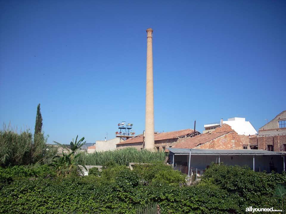 Chimenea de Santiago en la Algaida